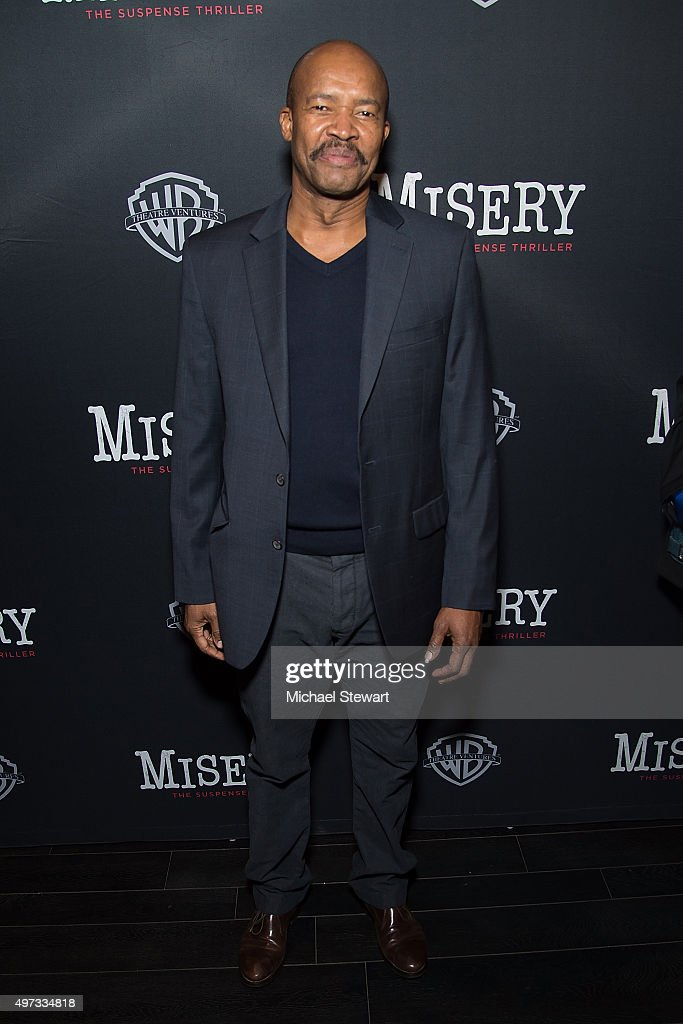 Actor Leon Addison Brown attends the 'Misery' Broadway opening night after party at TAO Downtown on November 15, 2015 in New York City.