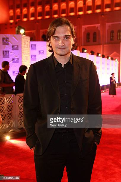 Actor Leon Lucev attends the Adel Imam Tribute Retrospective Screening during the 2010 Doha Tribeca Film Festival held at the Four Seasons Beach...