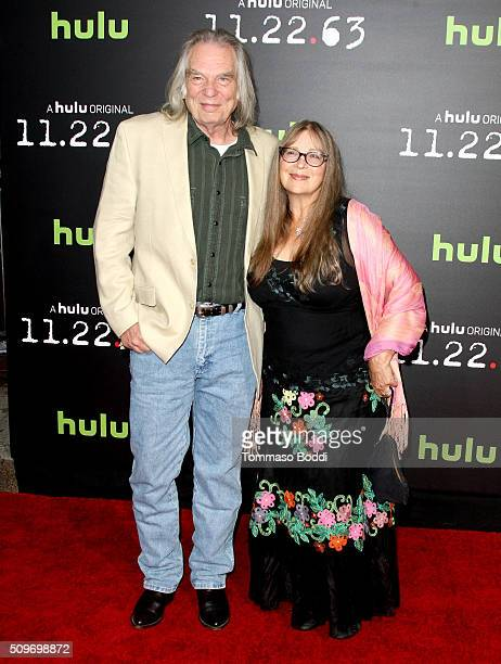 Actor Leon Rippy and Carol Rippy attend Hulu Original '112263' Premiere at Regency Bruin Theatre on February 11 2016 in Los Angeles California