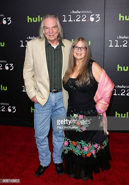 Actor Leon Rippy and his Wife Carol Rippy attend the premiere of Hulu's new series 112263 at Regency Bruin Theatre on February 11 2016 in Los Angeles...