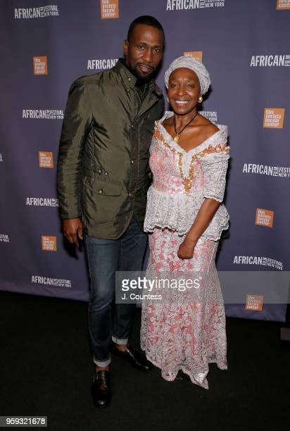 Actor Leon Robinson and founder of the New York African Film Festival Mahen Bonetti attend the opening night of the 25th African Film Festival at...