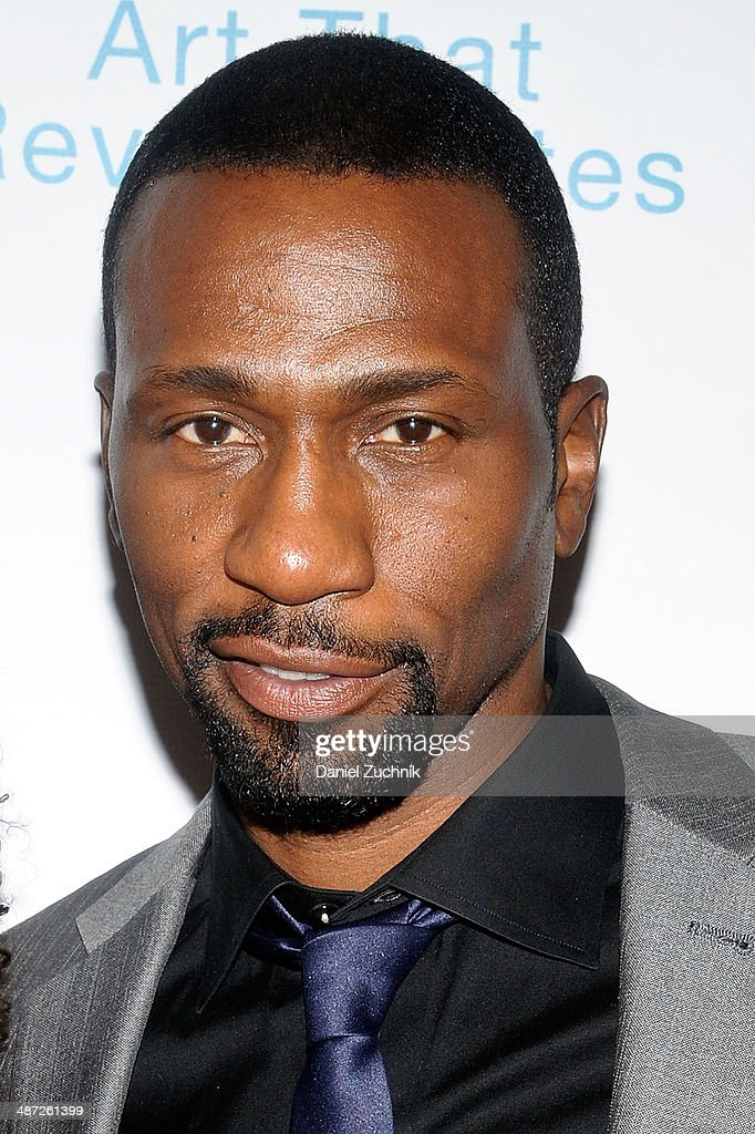 Actor Leon Robinson attends the Harlem Stage 2014 Spring Gala at Harlem Stage Gatehouse on April 28, 2014 in New York City.