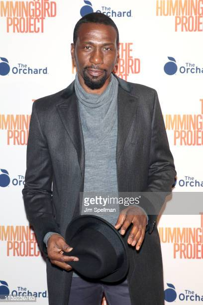 Actor Leon Robinson attends the The Hummingbird Project New York screening at Metrograph on March 11 2019 in New York City