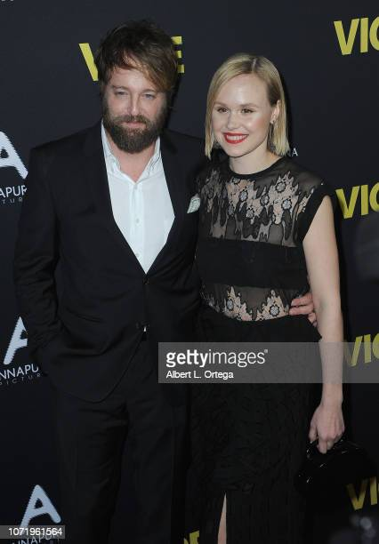Actor Leonard Joshua and actress Alison Pill arrive for Annapurna Pictures Gary Sanchez Productions And Plan B Entertainment's World Premiere Of...