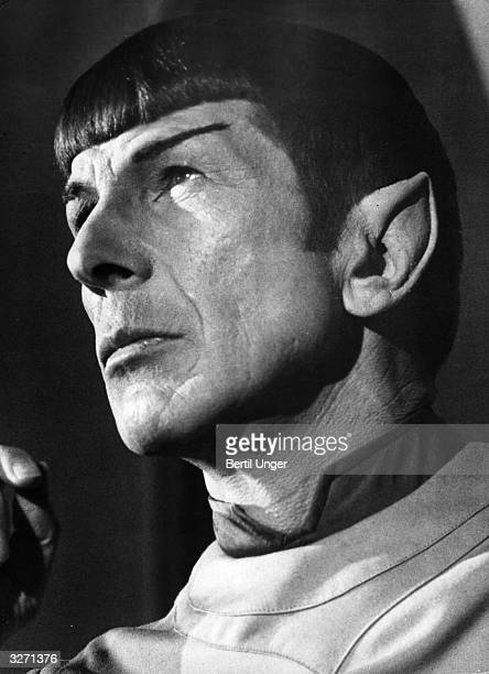 US actor Leonard Nimoy as Mr Spock from the film 'Star Trek The Motion Picture' 1979
