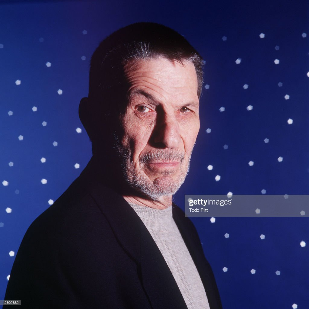 Actor Leonard Nimoy poses for a photograph in New York City on April 28, 1999. Photo by Todd Plitt/ImageDirect