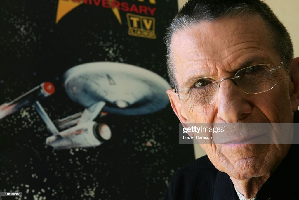 Actor Leonard Nimoy promotes the 'Star Trek' 40th Anniversary on the TV Land network at the Four Seasons hotel August 9, 2006 in Los Angeles, California. Episodes of the show will air September 8.