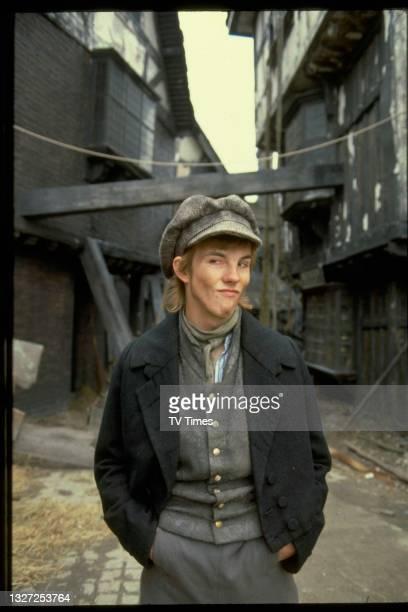 Actor Leonard Preston in character as Noah Claypole in period adventure series The Further Adventures Of Oliver Twist, circa 1980.
