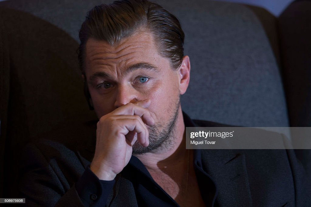 The Revenant Press Conference in Mexico : News Photo
