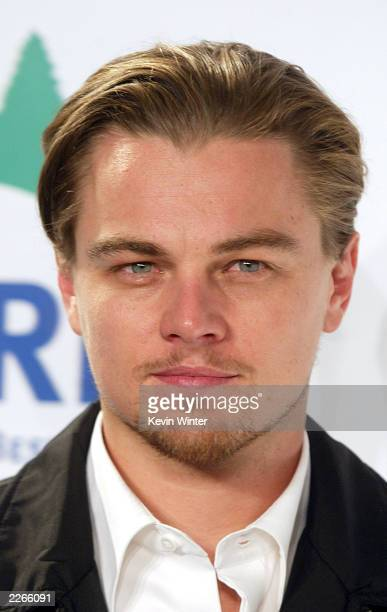 """Actor Leonardo DiCaprio arrives at """"Turn Up The Heat-Fight Global Warming"""", a benefit to help the Natural Resources Defense Council, featuring a..."""