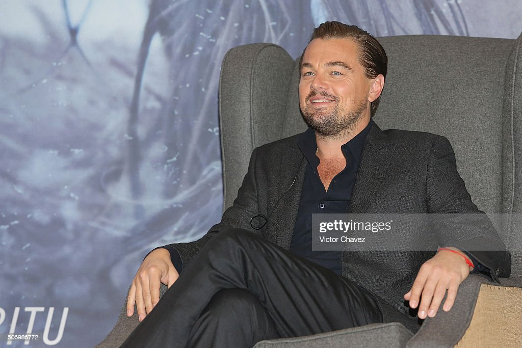 """The Revenant"" Mexico City Press Conference"