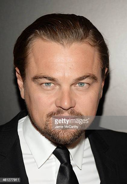 Actor Leonardo DiCaprio attends the 2014 National Board Of Review Awards Gala at Cipriani 42nd Street on January 7 2014 in New York City