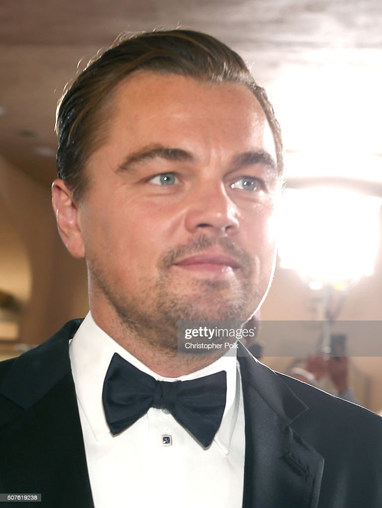 Actor Leonardo DiCaprio attends The 22nd Annual Screen Actors Guild Awards at The Shrine Auditorium on January 30, 2016 in Los Angeles, California. 25650_018