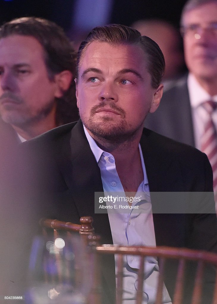 Actor Leonardo DiCaprio attends the 5th Annual Sean Penn & Friends HELP HAITI HOME Gala Benefiting J/P Haitian Relief Organization at Montage Hotel on January 9, 2016 in Beverly Hills, California.