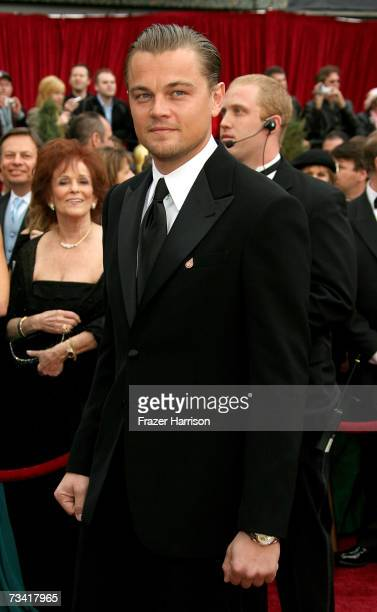 Actor Leonardo DiCaprio attends the 79th Annual Academy Awards held at the Kodak Theatre on February 25 2007 in Hollywood California