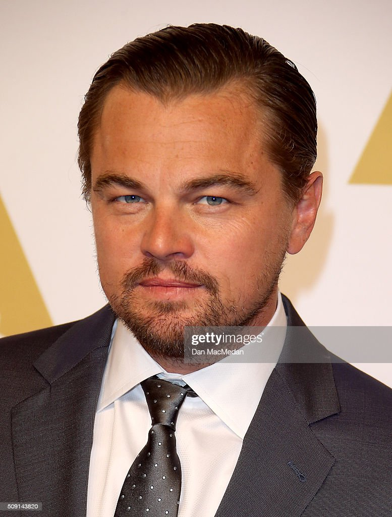 Actor Leonardo DiCaprio attends the 88th Annual Academy Awards Nominee Luncheon in Beverly Hills, California.