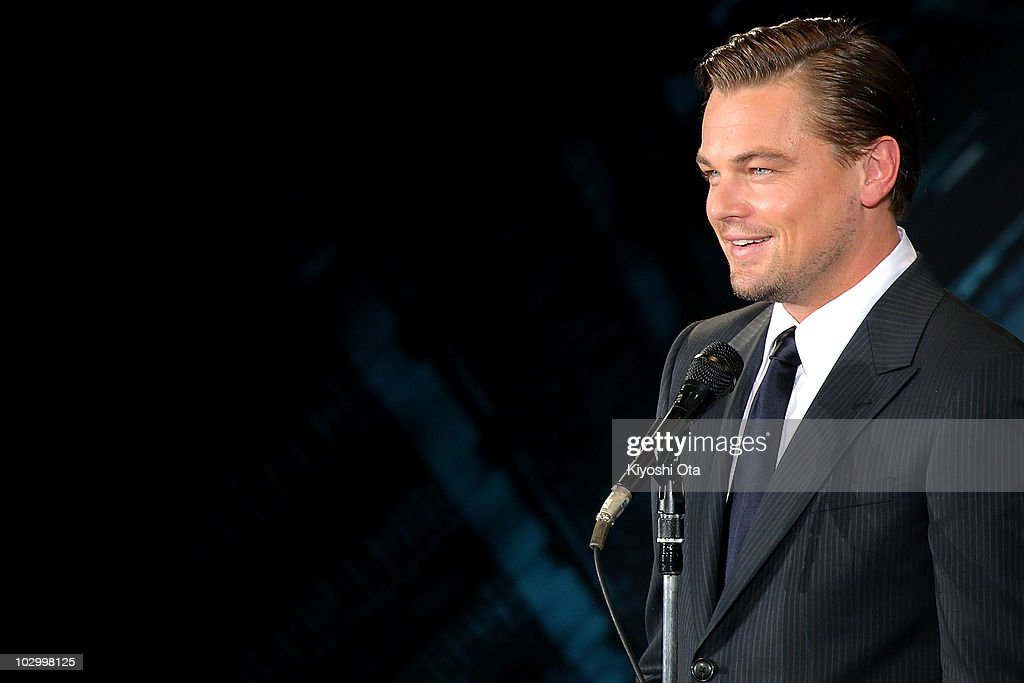 Actor Leonardo DiCaprio attends the 'Inception' Japan Premiere at Roppongi Hills on July 20, 2010 in Tokyo, Japan. The film will open in Japan on July 23.