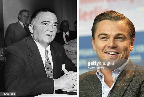 In this composite image a comparison has been made between J Edgar Hoover and Actor Leonardo DiCaprio Oscar hype continues this week with the...