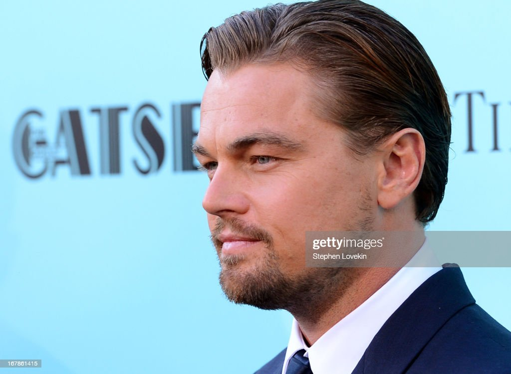 Actor Leonardo DiCaprio attends the 'The Great Gatsby' world premiere at Avery Fisher Hall at Lincoln Center for the Performing Arts on May 1, 2013 in New York City.