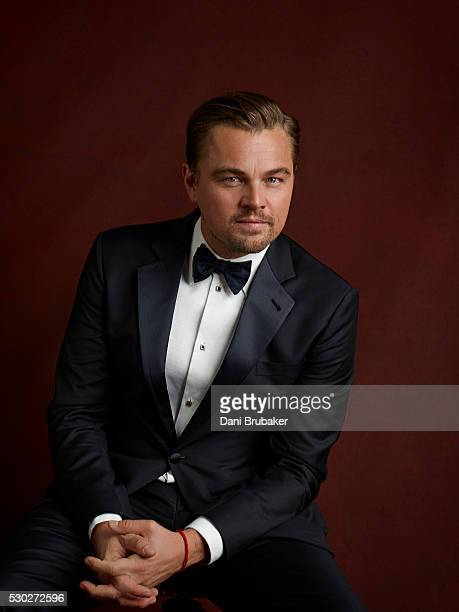Actor Leonardo DiCaprio is photographed for Peoplecom on January 30 2016 in Los Angeles California