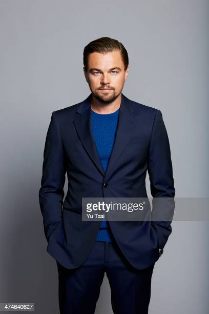 Actor Leonardo DiCaprio is photographed for Variety on January 23 2014 in Beverly Hills California