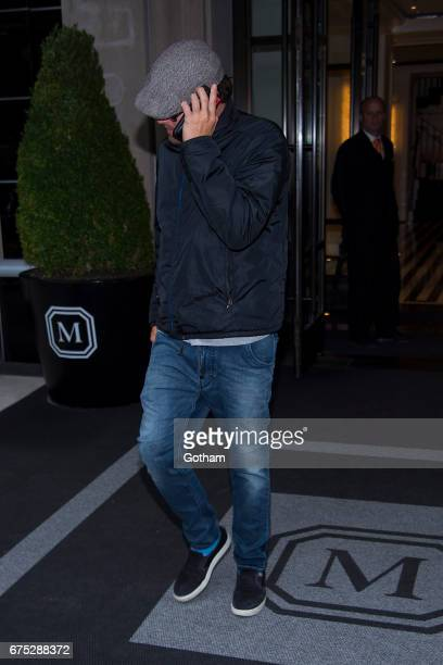 Actor Leonardo DiCaprio is seen in the Upper East Side on April 30 2017 in New York City