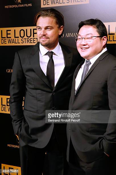 Actor Leonardo DiCaprio with Jho Low of the movie attend the photocall before the 'The Wolf of Wall Street' World movie Premiere at Cinema Gaumont...