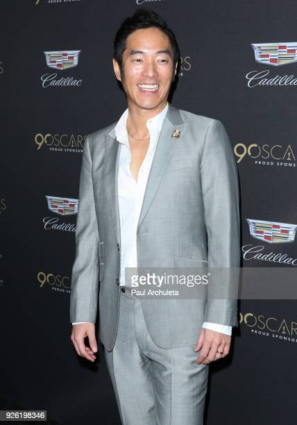 Actor Leonardo Nam attends the Cadillac celebration for the 90th Annual Academy Awards at Chateau Marmont on March 1 2018 in Los Angeles California