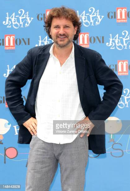 Actor Leonardo Pieraccioni attends 2012 Giffoni Film Festival photocall on July 16, 2012 in Giffoni Valle Piana, Italy.