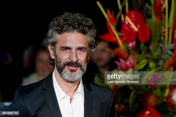 Actor Leonardo Sbaraglia attends the 'Nieve Negra' premiere during the 20th Malaga Film Festival 2014 Day 2 at the Cervantes Theater on March 18 2017...