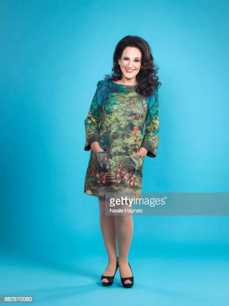 Actor Lesley Joseph is photographed for the Daily Mail on August 11 2017 in London England