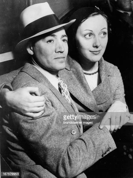 Actor Leslie Fenton and wife Ann Dvorak Photograph Schauspieler Leslie Fenton und Ehefrau Ann Dvorak 2931932 Photographie