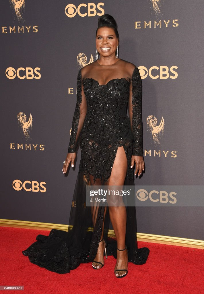 Actor Leslie Jones attends the 69th Annual Primetime Emmy Awards at Microsoft Theater on September 17, 2017 in Los Angeles, California.