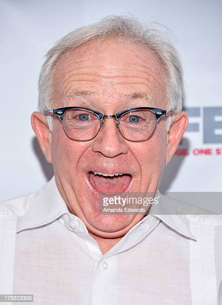 Actor Leslie Jordan arrives at the 2013 Outfest Opening Night Gala of COG at The Orpheum Theatre on July 11 2013 in Los Angeles California