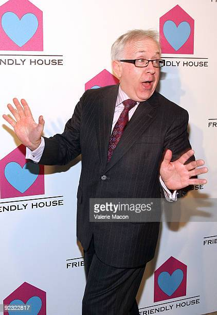 Actor Leslie Jordan arrives at the Friendly House Luncheon at The Beverly Hilton Hotel on October 24 2009 in Beverly Hills California