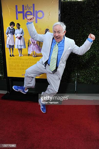 Actor Leslie Jordan attends the premiere Of DreamWorks Pictures' 'The Help' held at The Academy of Motion Picture Arts and Sciences Samuel Goldwyn...