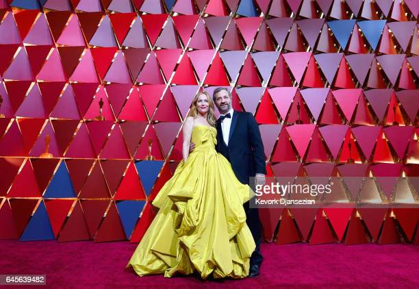 Actor Leslie Mann and producer Judd Apatow attend the 89th Annual Academy Awards at Hollywood & Highland Center on February 26, 2017 in Hollywood,...