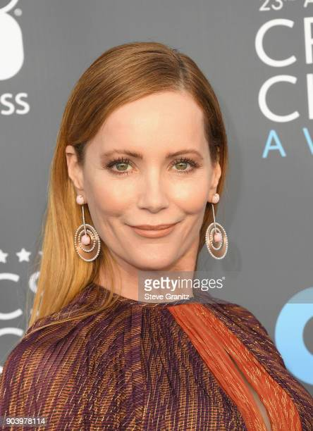 Actor Leslie Mann attends The 23rd Annual Critics' Choice Awards at Barker Hangar on January 11 2018 in Santa Monica California