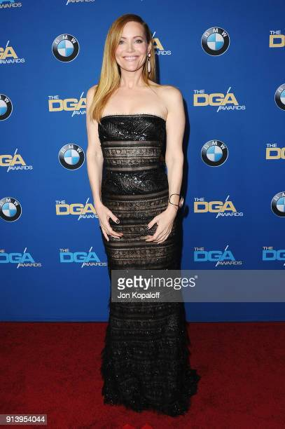 Actor Leslie Mann attends the 70th Annual Directors Guild Of America Awards at The Beverly Hilton Hotel on February 3 2018 in Beverly Hills California