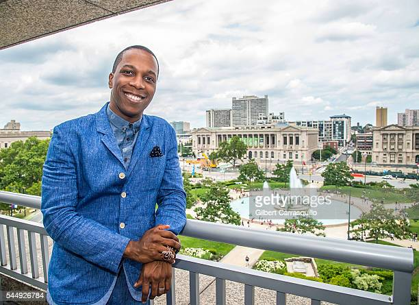Actor Leslie Odom Jr attends a photo call during Celebration of Freedom on July 4 2016 at The Logan Hotel in Philadelphia Pennsylvania