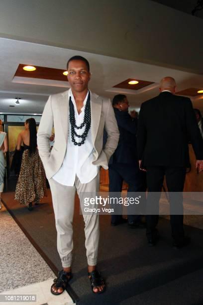 Actor Leslie Odom Jr attends Hamilton opening night at Centro de Bellas Artes on January 11 2019 in San Juan Puerto Rico