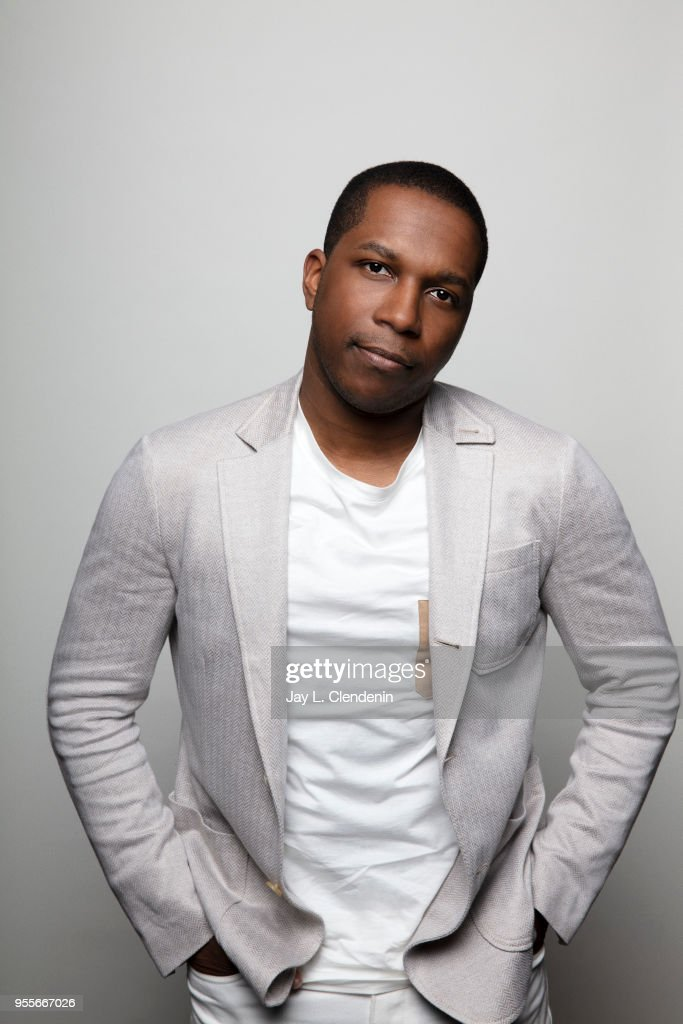 Actor Leslie Odom Jr is photographed for Los Angeles Times on April 21, 2018 in the L.A. Times Studio at the Los Angeles Times Festival of Books at the University of Southern California in Los Angeles, California. PUBLISHED IMAGE.