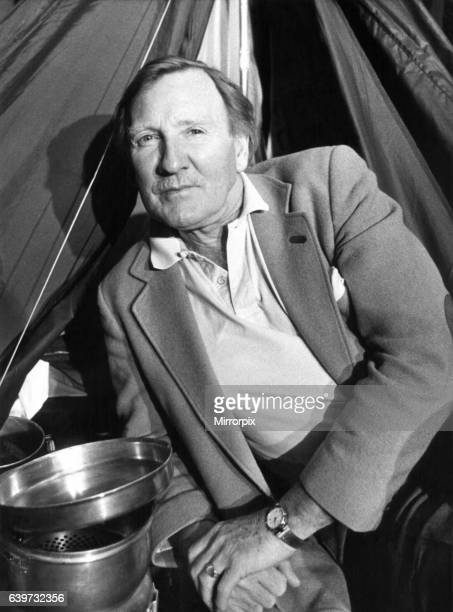 Actor Leslie Phillips at the Theatre Royal Newcastle for a press call on 18th March 1989