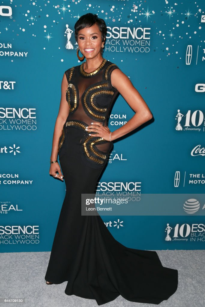 Actor LeToya Luckett at Essence Black Women in Hollywood Awards at the Beverly Wilshire Four Seasons Hotel on February 23, 2017 in Beverly Hills, California.
