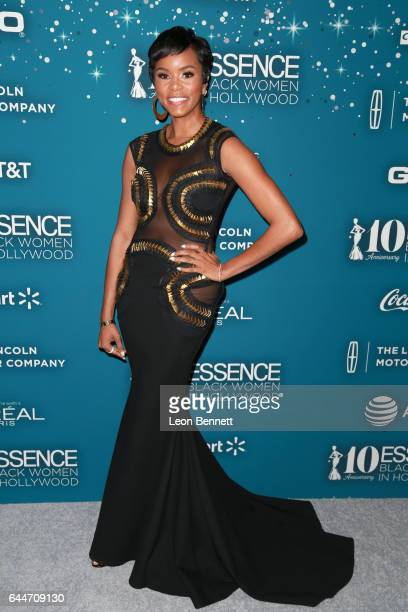 Actor LeToya Luckett at Essence Black Women in Hollywood Awards at the Beverly Wilshire Four Seasons Hotel on February 23 2017 in Beverly Hills...
