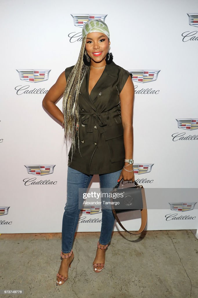 Actor LeToya Luckett attends Cadillac Welcome Luncheon At