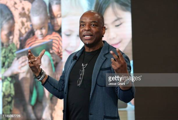 Actor LeVar Burton attend the Global Learning XPRIZE Foundation Grandprize Awards at Google Playa Vista Office on May 15 2019 in Playa Vista...