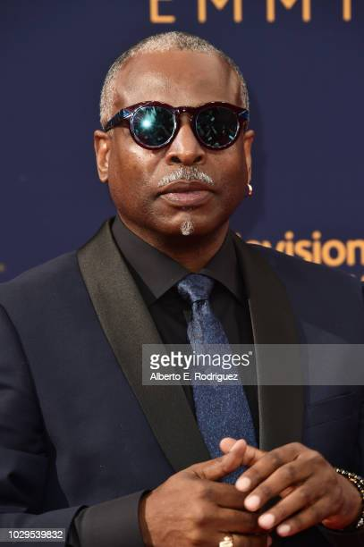 Actor LeVar Burton attends the 2018 Creative Arts Emmy Awards at Microsoft Theater on September 8 2018 in Los Angeles California