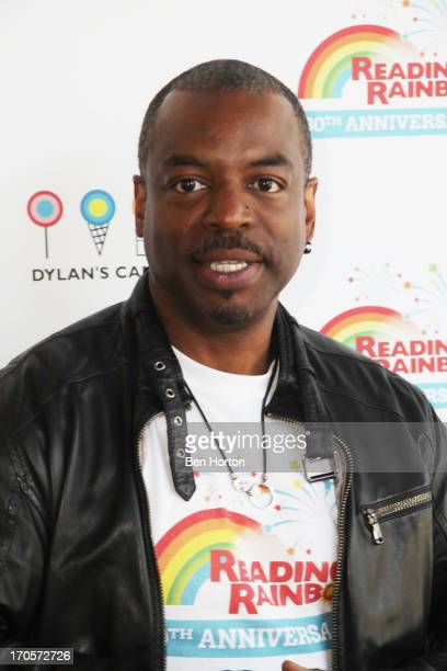 Actor LeVar Burton attends the Reading Rainbow's 30th anniversary celebration at Dylan's Candy Bar on June 14 2013 in Los Angeles California