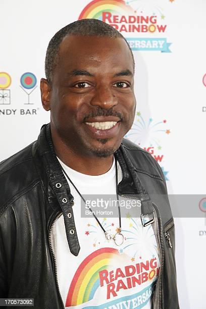 Actor LeVar Burton attends the Reading Rainbow's 30th anniversary celebration at Dylan's Candy Bar on June 14, 2013 in Los Angeles, California.